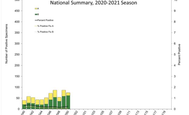 2020-2021 flu season chart
